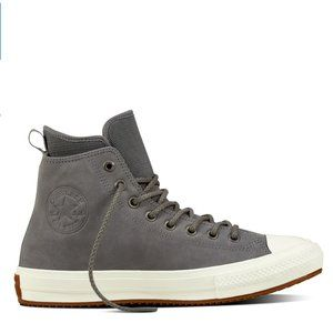Men's Converse Gray Leather Chuck Taylor Size 11